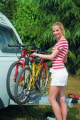Carry bike karaván xl piros