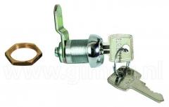 Kulcsos zár 16 mm